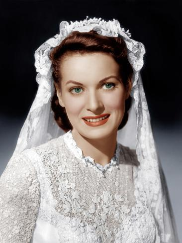 THE QUIET MAN, Maureen O'Hara, 1952 Foto