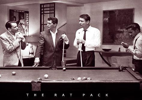 The Rat Pack Plakat