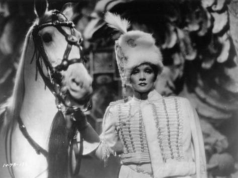 The Scarlett Empress, Marlène Dietrich, 1934 Fotografisk tryk