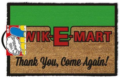 The Simpsons - Kwik-E-Mart Door Mat Rariteter