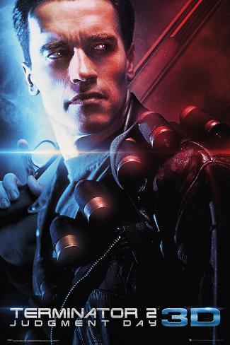 The Terminator: Judgement Day 3D One Sheet Plakat