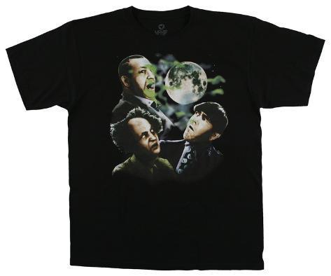 The Three Stooges - Three Stooges Moon T-skjorte