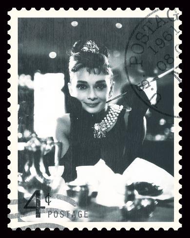 Movie Stamp II Kunsttrykk