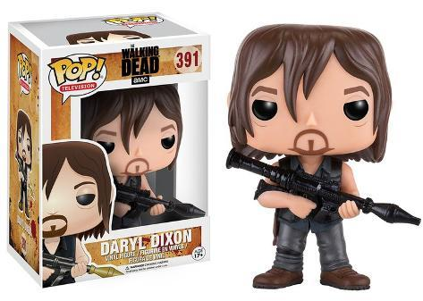 The Walking Dead - Daryl w/Rocket Launcher POP Figure Leke