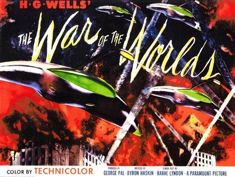 The War of the Worlds, 1953 Premium Giclée-tryk