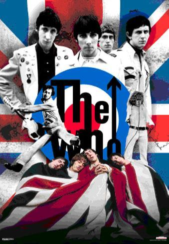 The Who 3-dimensjonal plakat