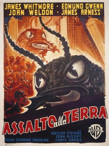 Them!, Italian Movie Poster, 1954 Kunsttryk