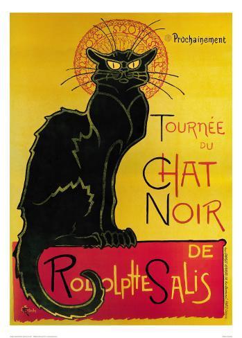 Tournée du Chat Noir, ca. 1896 Kunsttryk