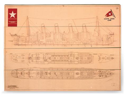 Titanic Treskilt