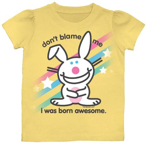 Toddler: Happy Bunny - Don't Blame Me T-Shirt