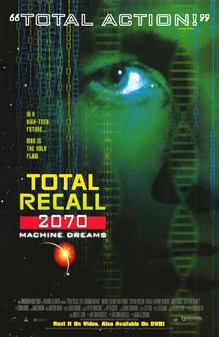 Total Recall 2070 Plakat
