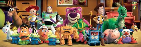Toy Story 3 - Cast Plakat