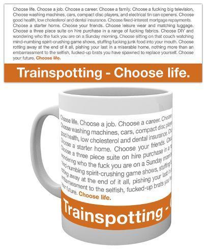 Trainspotting - Quote Mug Krus