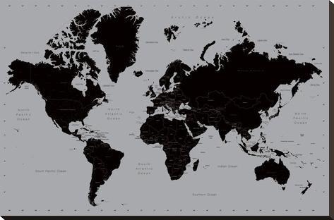Verdenskort Moderne Opsp 230 Ndt L 230 Rredstryk P 229 Allposters Dk