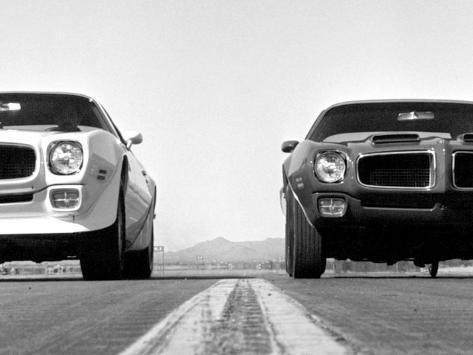 Vintage Pontiac GTO Duel Drag race Anden