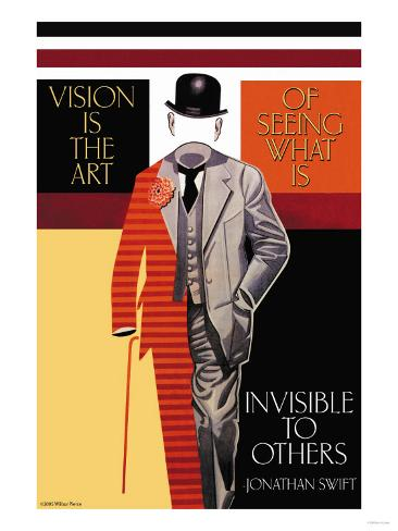 Vision is the Art Kunsttryk