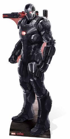 War Machine - Marvel Civil War Papfigurer
