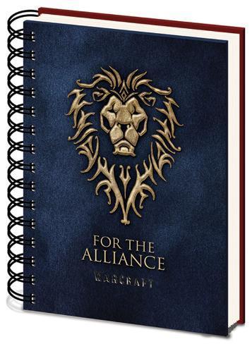 Warcraft A5 Notebook Lommebog