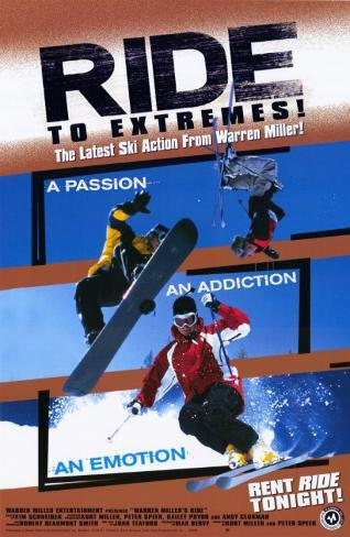 Warren Miller's Snowriders Masterprint