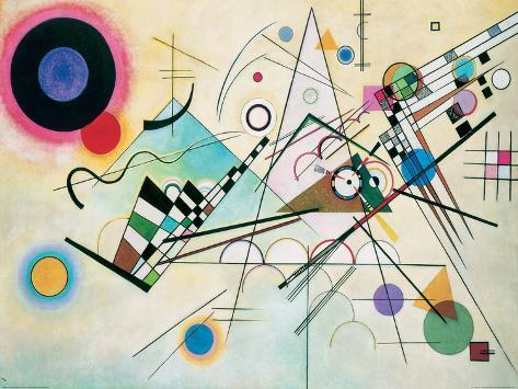 Composition VIII Giclée-tryk