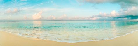 Waves On The Beach, Seven Mile Beach, Grand Cayman, Cayman Islands Wallstickers