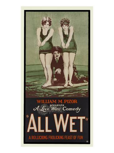 All Wet Kunsttrykk