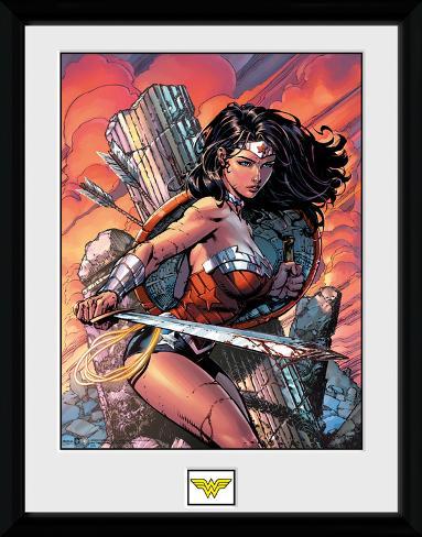 Wonder Woman Sword Samletrykk