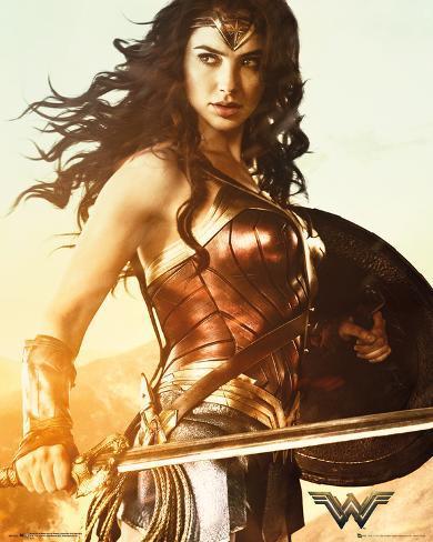Wonder Woman Sword Plakat