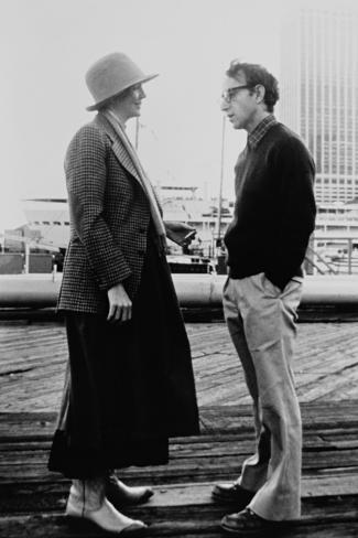 Woody Allen, Diane Keaton, Annie Hall, 1977 Fotografisk tryk