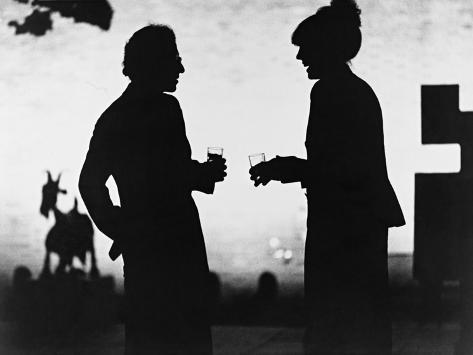 Woody Allen, Diane Keaton, Manhattan, 1979 Fotografisk tryk