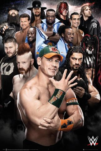 WWE- Superstars 2016 Plakat