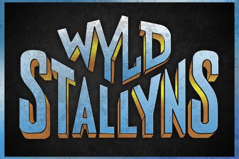 Wyld Stallyns Movie Music Plastic Sign Plastikskilt