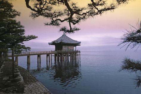 Zen (House on Water) Art Poster Print Plakat