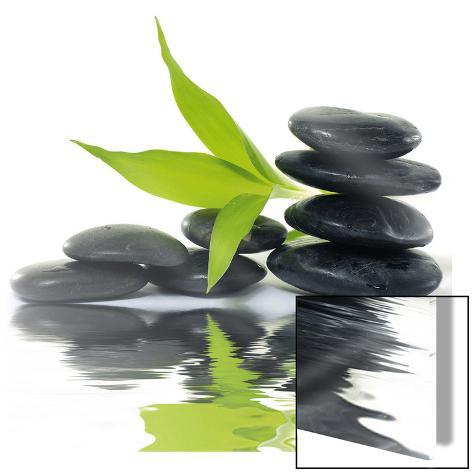 Zen Impression Kunst på glass