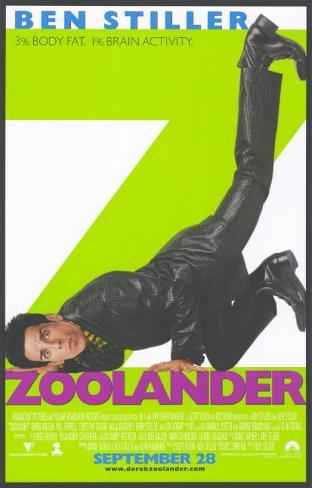 Zoolander Masterprint