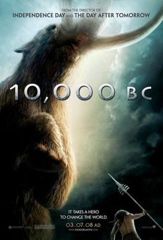 10.000 B.C. Originalposter