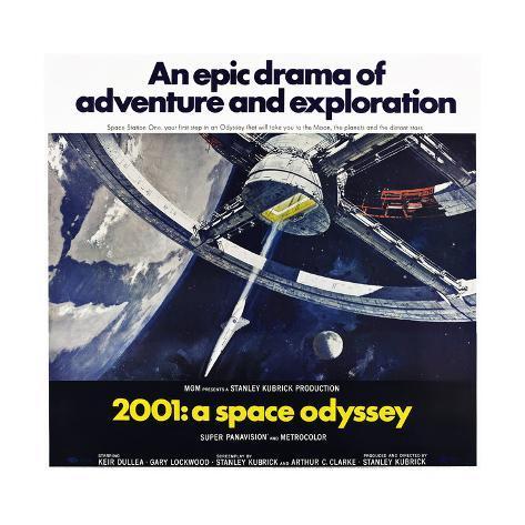 2001: Odyssee im Weltraum Kunstdruck
