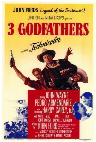 3 Godfathers Masterprint