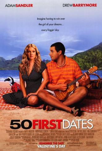 50 erste Dates, Englisch Poster