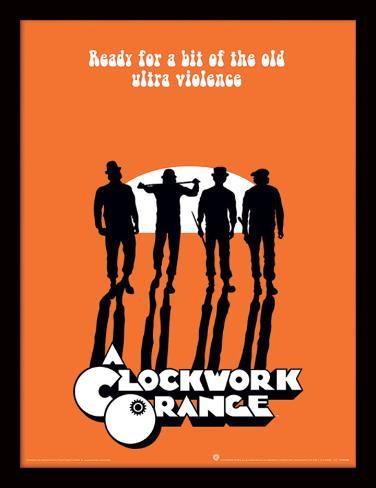 A Clockwork Orange - Ultra Violence Verzamelaarsprint