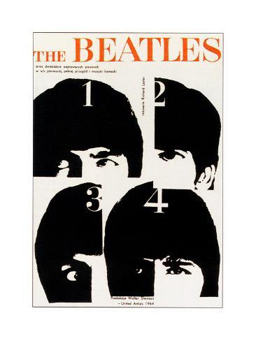 A Hard Day's Night, The Beatles Kunstdruck