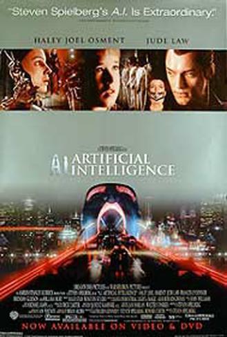 A.I. - Artificial Intelligence Originalposter
