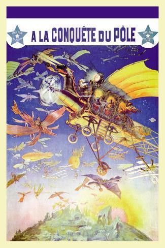 A La Conquete du Pole Wandtattoo