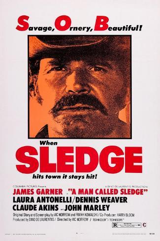 A Man Called Sledge Kunstdruck