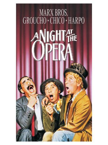 A Night At The Opera, 1935 Kunstdruck