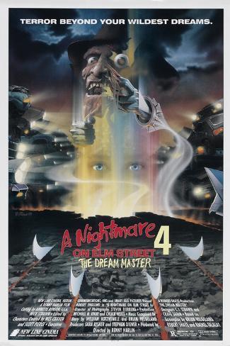 A Nightmare on Elm Street 4: Dream Master Poster