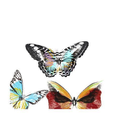 Butterflies Dance II Kunstdruck