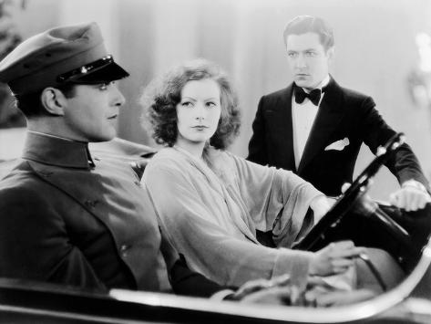 A Woman Of Affairs, Douglas Fairbanks Jr., Greta Garbo, Johnny Mack Brown, 1928 Foto