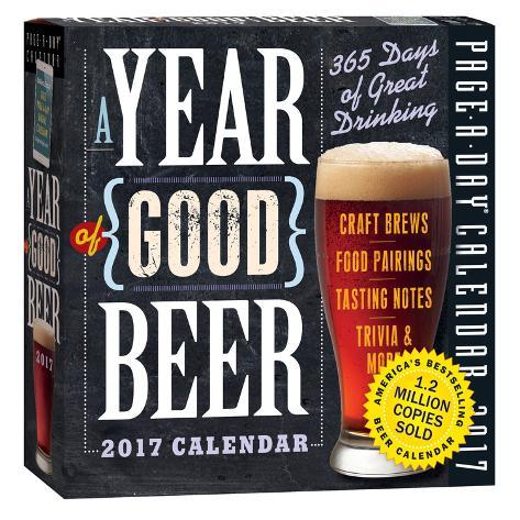 A Year Of Good Beer Page-A-Day - 2017 Boxed Calendar Kalenders
