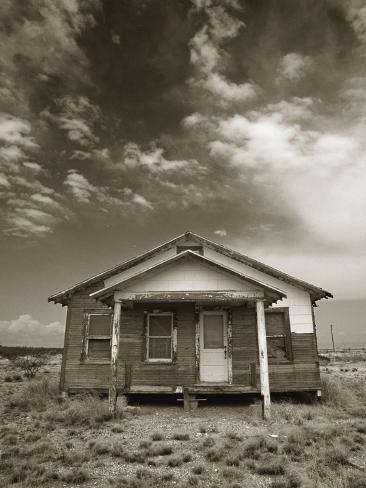 Abandoned House Fotografie-Druck